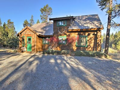 Photo for Private Log Cabin in Bend w/ Deschutes River View!