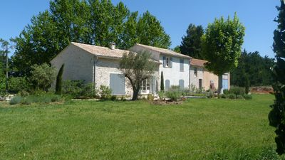 Photo for Renovated farmhouse in Isle sur la Sorgues with swimming pool