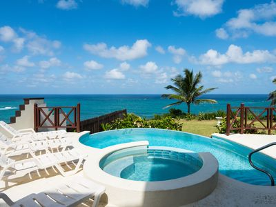 Photo for 5 Bedroom ocean front villa fantastic views, Pool  overlooking cliff