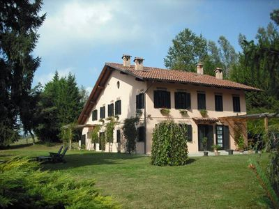 Photo for Country House in Monferrato with garden and swimming pool