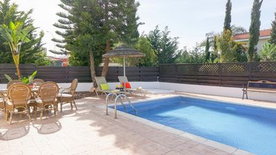 Photo for Villa Willow Mandali - Beautiful Villa with Large Pool, BBQ, WIFI and UK Channels.