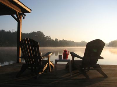 Photo for Perfect Lakeside Getaway on Peaceful Lake Sinclair.  Minutes from Milledgeville!