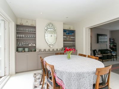 Photo for A charming property with beautiful roof terrace located in Kensington (Veeve)