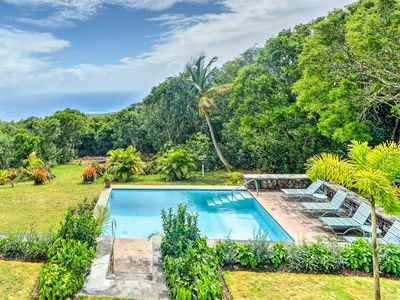 Photo for Nevis Home w/ Pool, Stunning Jungle & Ocean Views!