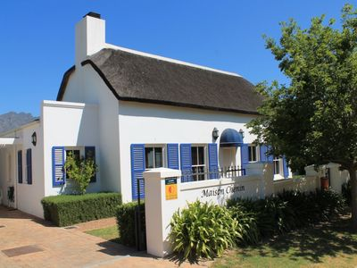 Photo for Luxurious Chenin Cottage | 4 persons, 2 bedrooms | Swimming pool | WiFi