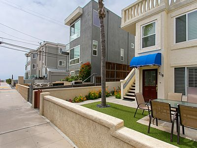 Photo for Mission Beach 2 Bed 2.5 Bath, Steps to the beach
