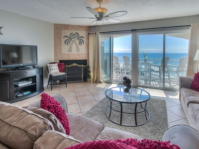 Photo for RENOVATED GULF FRONT -  2 Stories Endless Gulf Views - Blue Tide 1B