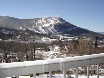 Photo for SPACIOUS 1800 SQ FT HUNTER TOWNHOME WITH SKI SLOPE VIEW.