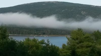 Your View from Seascaoe, Somes Sound and Sargent Mountain Magnificent!