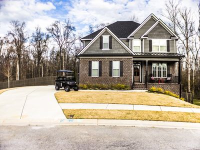 Photo for Augusta National Masters Rental in Evans, GA 6 BR W/4.5 Bath w/ Golf Cart
