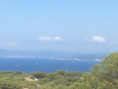 Photo for THE BRUSC IN THE VAR, MAGNIFICENT MAS SEA VIEW WITH SWIMMING POOL 12 people
