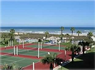 Balcony View of the Beach and Tennis Courts