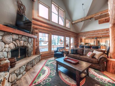 Photo for Private Mountain Home, With Great Ski Access, & Huge Deck To Gather For A BBQ!