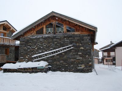 Photo for The 3 Vallees-Luxurious and bright appt in chalet renovated in 2006