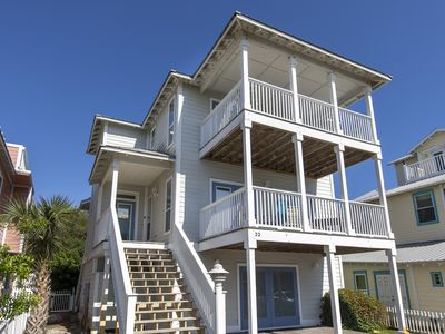 Photo for Bright House - Just A Few Steps To The Beach, Private Pool, Santa Rosa beach