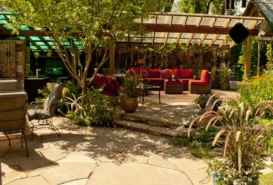 Master Gardener's Private Courtyard