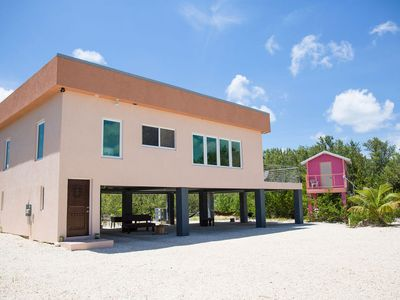Photo for Frenchie's Haven 3 bedroom Eco Friendly House located in Frank Sound
