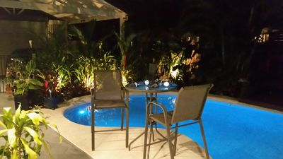 Photo for Fully self contained family holiday home heated pool 50mt to the beach