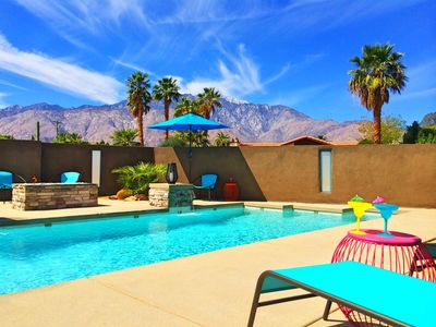 Stunning Views of Mt. San Jacinto from the pool!