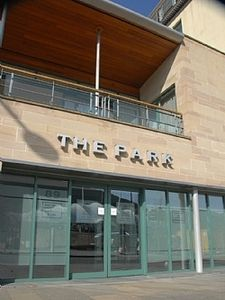 Entrance to 'The Park'