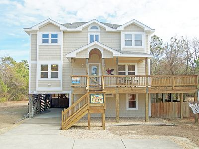 Photo for GORGEOUS! 7 BEDROOMS-PRIVATE POOL-HOT TUB-POOL TABLE-TWO FIREPLACES-HUGE DECK
