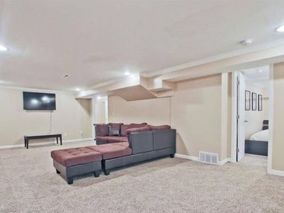 Photo for East Cobb-Basement Apartment King/Wifi/TV/Private