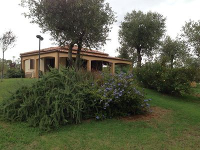 Photo for Brand new villa, just minutes from the center of Alghero and the most beautiful beaches