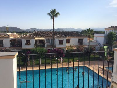 Photo for Apartment in Denia Las Marinas at 300 m from the sea, with swimming pools and tennis court
