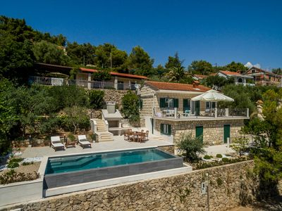 Photo for Villa Turquoise Waterfront – A Beautiful 3 Bedroom Villa – A Stones throw to the Beach