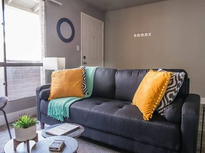 Photo for Sunny + Stylish 2BR Apt in Riverside w/ Parking