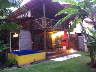 Photo for Exclusive 1, 2 and 3 bedroom houses on Taquaras Beach only 150m from the beach