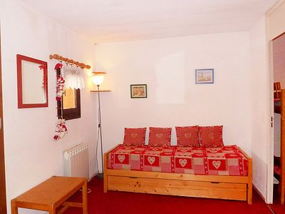 Photo for Val Thorens Apartment, Sleeps 4 with WiFi