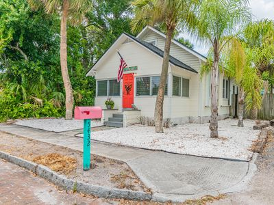 Photo for Beach Bungalow  walking distance to all that you would need
