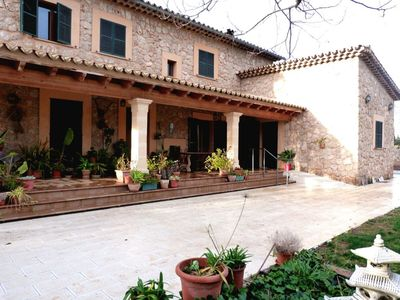 Photo for Cosy Finca with Pool, Wi-Fi, Air Conditioning, Garden and Porch; Parking Available