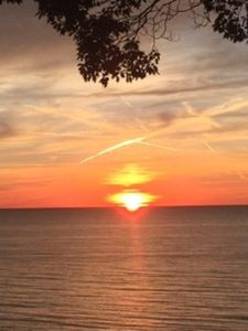 Photo for RARE PRIVATE BEACH AVAILABILITY! Lake Michigan Views from Beachfront Cottage!