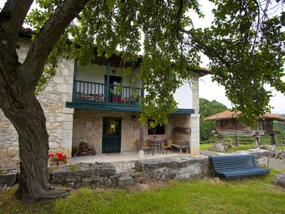 Photo for Charming cottage and wonderful views of Picos de Europa.