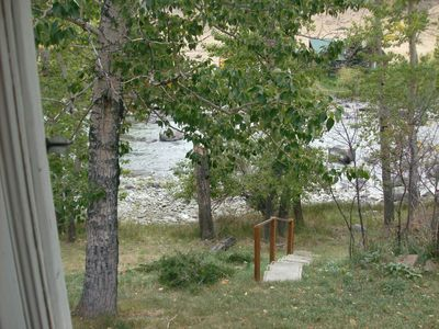 Photo for Cabin rental on the Stillwater River, Montana. Fishing at doorstep.