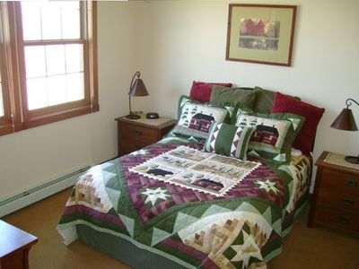 Large Master Bedroom with new pillow-top queen size mattress
