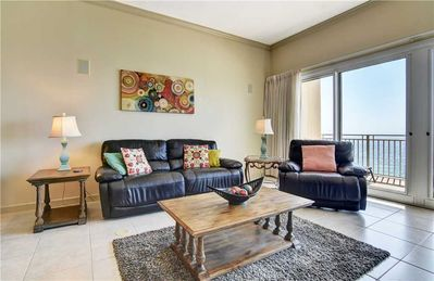 Photo for 15th Floor Spacious Ocean Front Unit With Stunning Views