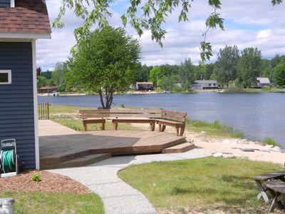 Photo for Lakefront Cadillac Cottage on Private Lake - 2BA, Sleep 6-8