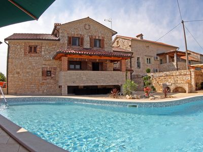 Photo for Holiday villa with large pool (75m) and the Lim canal in the heart of Istria exclusively