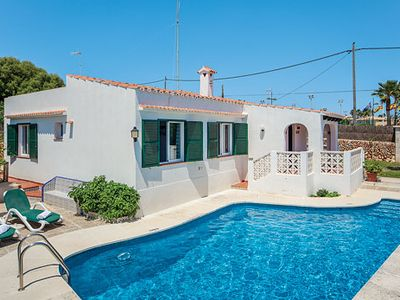 Photo for Stunning villa w/ sun terrace and bbq area 2-minute walk from the beach