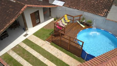Photo for House with pool in Praia Grande / SP