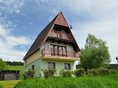Photo for Holiday house With outdoor pool and sauna at Lipno Dam