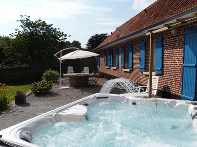 Photo for House with with Jacuzzi and Wifi. Half an hour from Touquet-Plage and Montreuil.