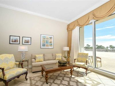 Photo for Upgraded Beach Front Condo. Patio Access to All Amenities! Free Beach Service