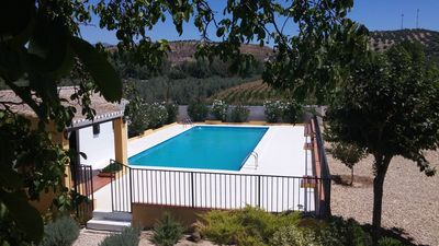 Photo for Rural house in Poniente Granadino with swimming pool