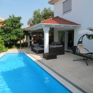Photo for Luxury new Villa Martina with private pool and garden in city Krk