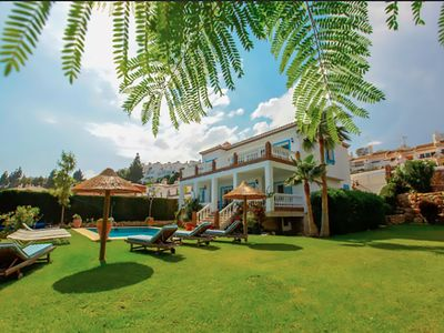Photo for Beautiful, modern, spacious  villa; sleeps 15. Private pool and jacuzzi