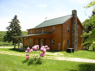 Photo for Spacious, Tranquil, Rustic Farmhouse built 1842 .      PET FRIENDLY